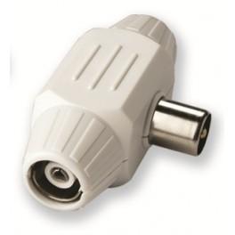 TV коннектор - тройник для телевизионного кабеля Electraline 62205