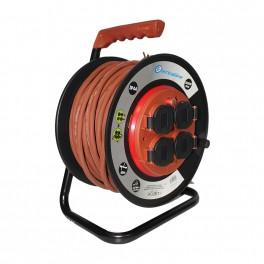 Удлинитель на катушке 40 метров Electraline 49044 кабель 3х1,5 мм2