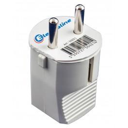 Вилка электрическая Electraline прямой ввод 16 А артикул 55021