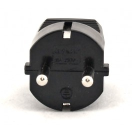 Вилка электрическая Electraline прямой ввод,16 А, 250 В арт.55022