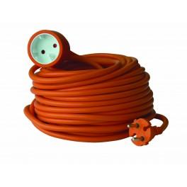Удлинитель-шнур садовый Electraline кабель 2х1,5 мм2 40 метров артикул 01625