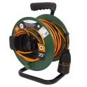 Удлинитель на катушке 25 метров  кабель ПВС 3х1 мм2 Electraline 49237
