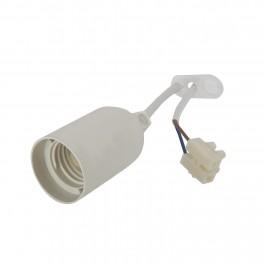 Патрон Electraline, Е 27, 4 А, 20 см., с кабелем ПВС 2х0,75 арт.71150