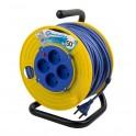 Удлинитель на катушке 50 метров Electraline кабель 2х0,75 мм2 артикул 49012