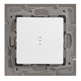 Выключатель одноклавишный с подсветкой Legrand Etika 672203
