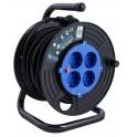 Удлинитель на катушке 30 метров Electraline 49013 кабель 3х0,75 мм2