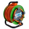 Удлинитель на катушке 40 метров садовый Electraline 49054 кабель 2х0,75