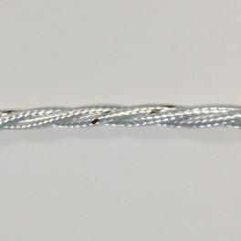 Витой кабель для ретро проводки 3х0.75 мм2 белый Electraline 31200 1 метр