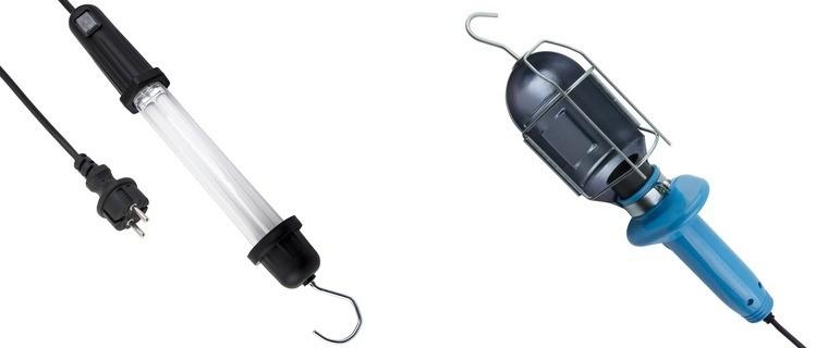 Лампы переносные