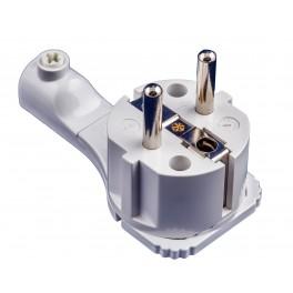 Вилка электрическая Electraline боковой ввод,16 А, 250 В арт.55043